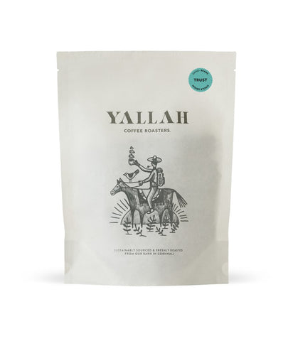 Trust, single origin coffee, Yallah Coffee, sustainable, sustainably roasted