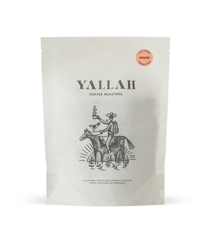 House, single origin coffee, Yallah Coffee, sustainable, sustainably roasted