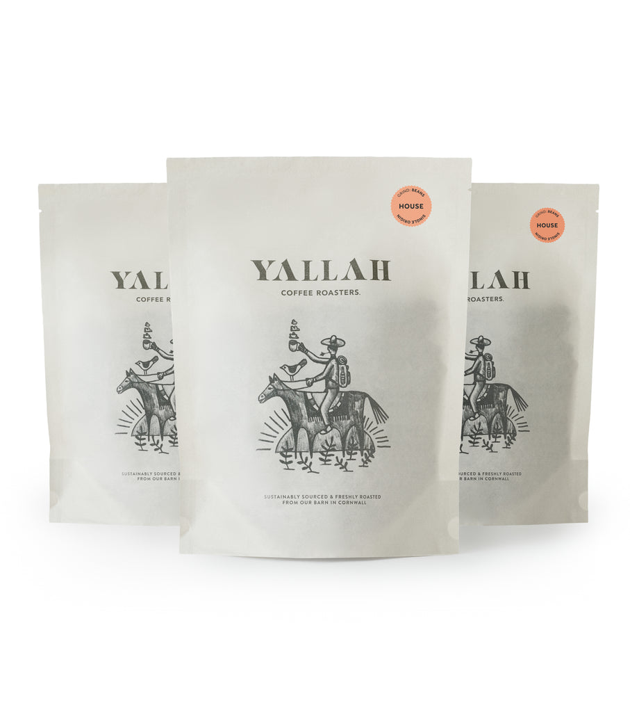 Office Coffee Club, single origin coffee, Yallah Coffee, sustainable, sustainably roasted