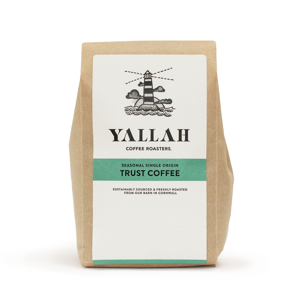 TRUST COFFEE SUBSCRIPTION, single origin coffee, Yallah Coffee, sustainable, sustainably roasted