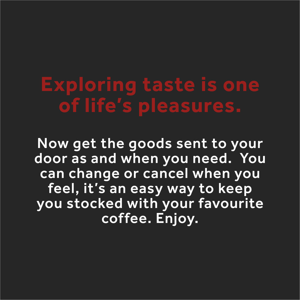 EXPLORE COFFEE SUBSCRIPTION, single origin coffee, Yallah Coffee, sustainable, sustainably roasted