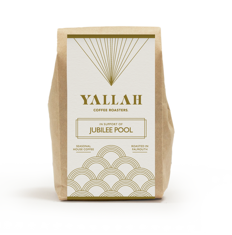 Jubilee Pool x Yallah Coffee, single origin coffee, Yallah Coffee, sustainable, sustainably roasted