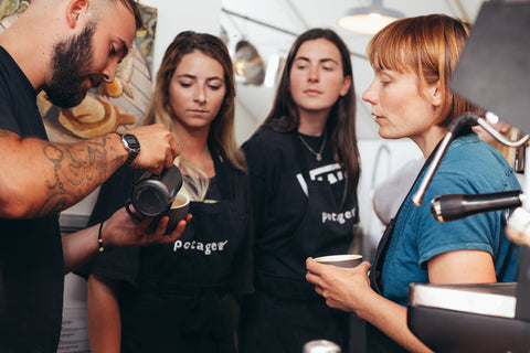 Head Barista Course, single origin coffee, Yallah Coffee, sustainable, sustainably roasted