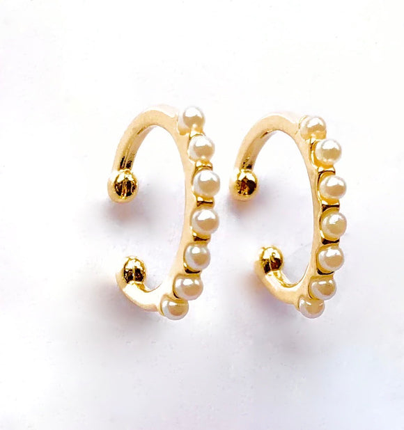 Pearl Ear Cuff (Set of 2)