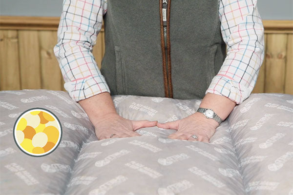 Orthopaedic - Blended Memory Foam Particles