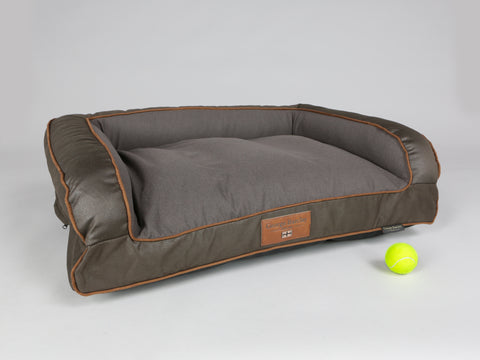 Beckley Dog Sofa Bed - Mahogany / Chestnut, Medium