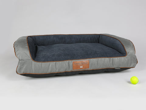 Beckley Sofa Bed - Pewter / Anthracite, Large - 120 x 75 x 27cm