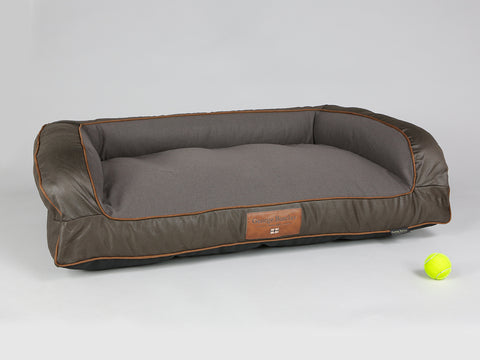 Beckley Dog Sofa Bed - Mahogany / Chestnut, Large