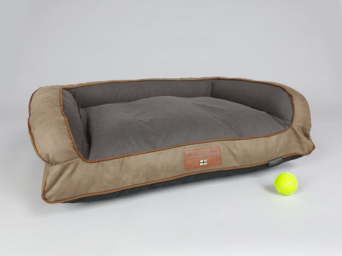 Ashurst Dog Sofa Bed - Chestnut, Medium