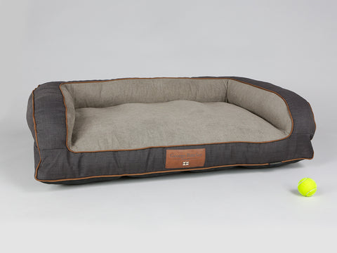 Hyde Sofa Bed - Espresso / Latte, Large - 120 x 75 x 27cm