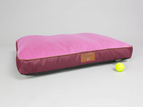 Selbourne Dog Mattress - Grape / Fuchsia, Large