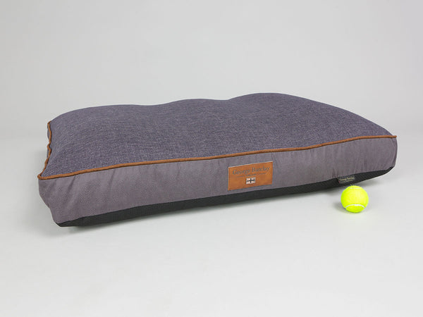 Hursley Dog Mattress - Vineyard / Violet, Large
