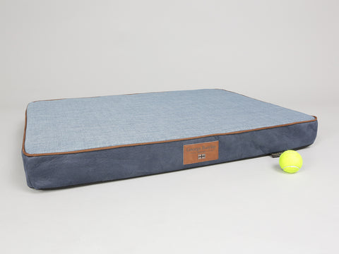 Monxton Mattress Bed - Twilight / Denim, Large - 100 x 70 x 10cm