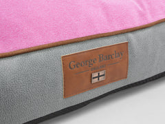 Selbourne Mattress Bed - Fossil / Fuchsia, Large - 100 x 70 x 10cm