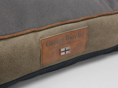 Monxton Mattress Bed - Cocoa / Chestnut, Medium - 80 x 60 x 8cm