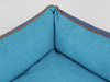 Beckley Orthopaedic Box Bed - Deluxe Edition - Aquamarine, Small - 60 x 50 x 27cm