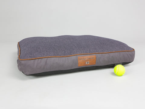 Hursley Mattress Bed - Vineyard / Violet, Medium - 80 x 60 x 8cm