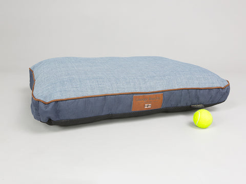 Monxton Mattress Bed - Twilight / Denim, Medium - 80 x 60 x 8cm