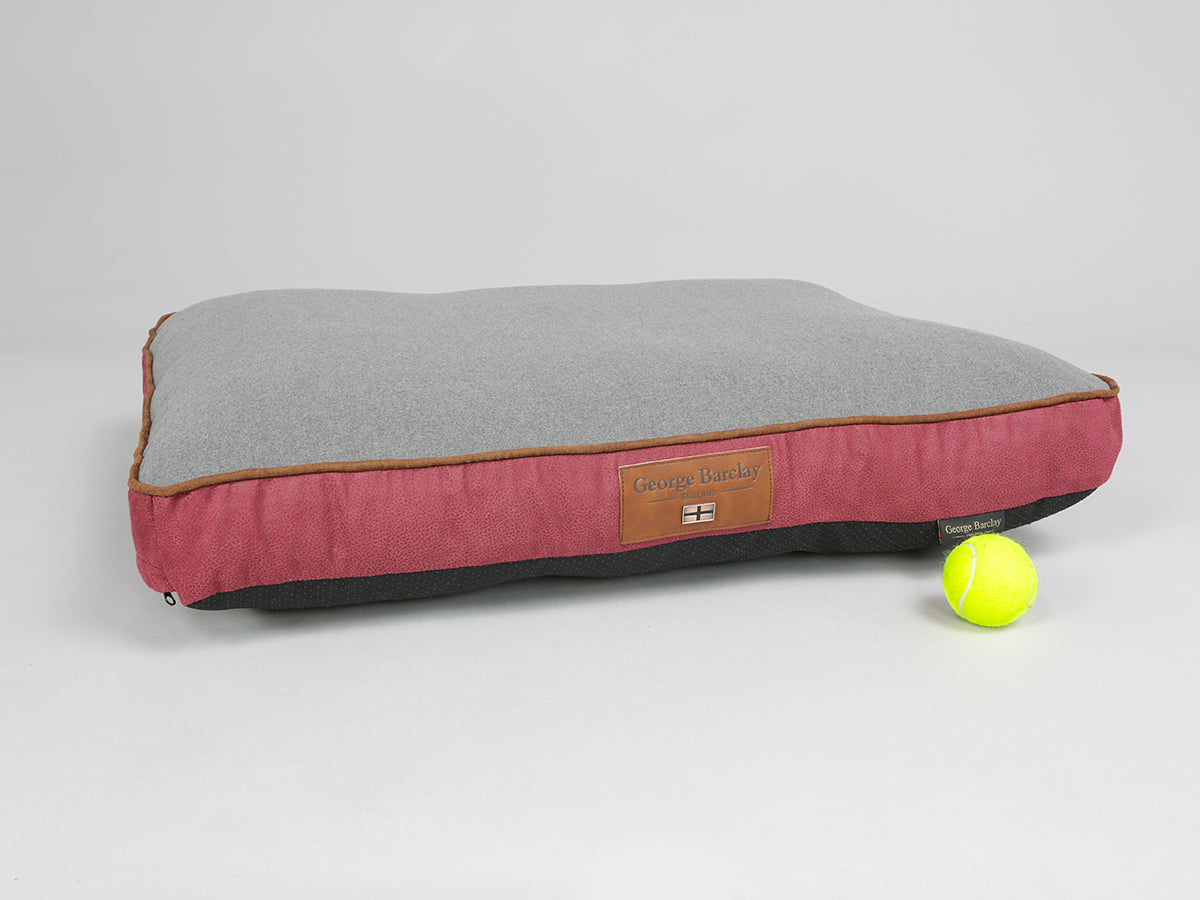 Hursley Mattress Bed - Cabernet / Ash, Medium - 80 x 60 x 8cm