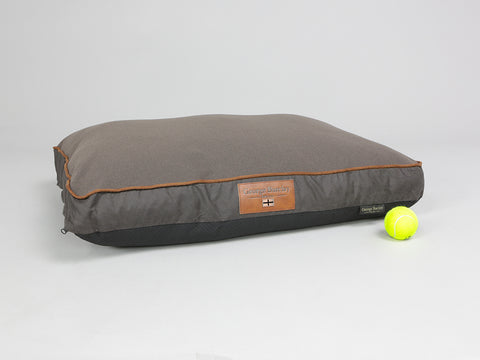 Hursley Mattress Bed - Chocolate / Chestnut, Medium - 80 x 60 x 8cm