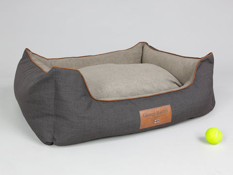 Hyde Orthopaedic Box Bed - Espresso / Latte, Large - 90 x 70 x 33cm