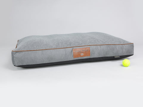 Axford Mattress Bed - Graphite / Cloudburst, X-Large - 120 x 80 x 12cm