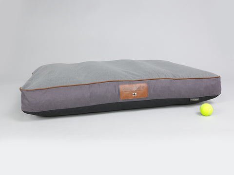 Hursley Mattress Bed - Vineyard / Ash, X-Large - 120 x 80 x 12cm