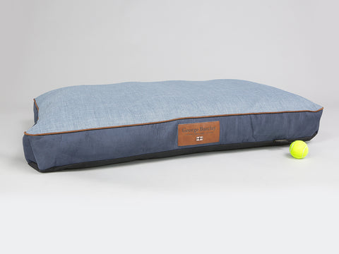Monxton Mattress Bed - Twilight / Denim, X-Large - 120 x 80 x 12cm