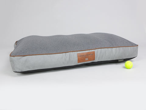 Selbourne Mattress Bed - Fossil / Charcoal, X-Large - 120 x 80 x 12cm