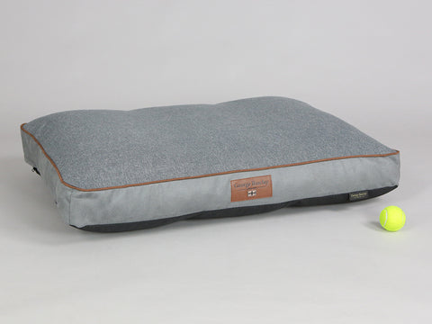 Selbourne Dog Mattress - Silver / Cloudburst, Large