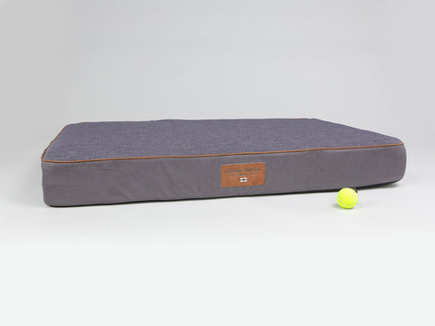 Hursley Mattress Bed - Vineyard / Violet, XX-Large - 135 x 90 x 15cm