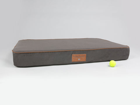 Hursley Mattress Bed - Chocolate / Chestnut, XX-Large - 135 x 90 x 15cm