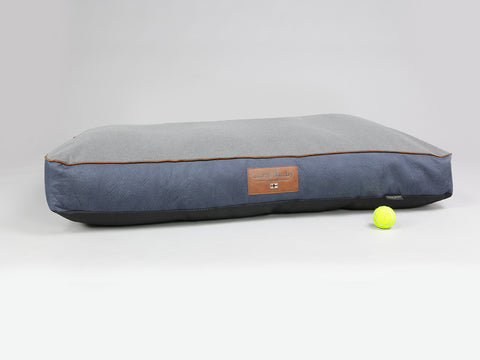 Monxton Mattress Bed - Twilight / Ash, XX-Large - 135 x 90 x 15cm