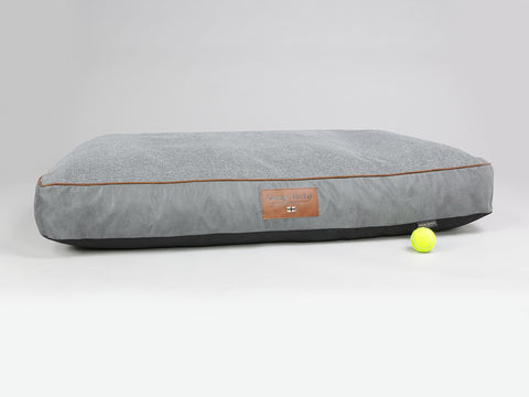 Axford Mattress Bed - Graphite / Cloudburst, XX-Large - 135 x 90 x 15cm