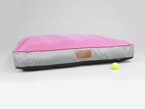 Selbourne Mattress Bed - Fossil / Fuchsia, XX-Large - 135 x 90 x 15cm