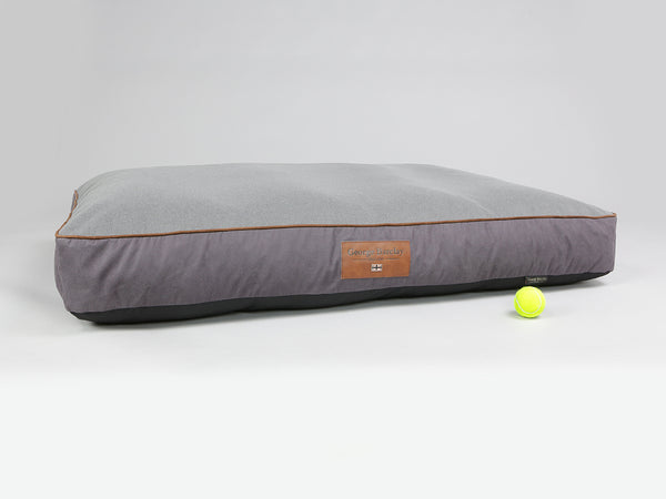 Hursley Dog Mattress - Vineyard / Ash, XX-Large