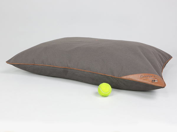 Hursley Pillow Bed - Chocolate / Chestnut, Large - 100 x 70cm