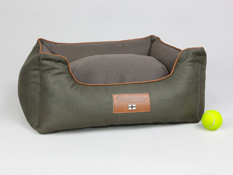 Beauworth Orthopaedic Box Bed - Coffee Bean, Small - 60 x 50 x 27cm