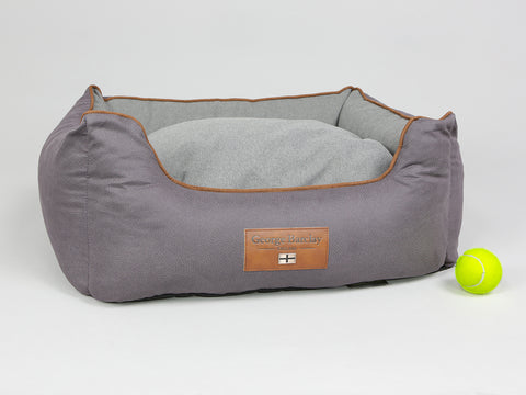 Hursley Orthopaedic Walled Dog Bed - Vineyard / Ash, Small
