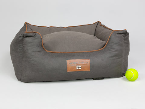Hursley Box Bed - Chocolate / Chestnut, Small - 60 x 50 x 27cm