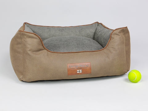 Monxton Box Bed -  Cocoa / Deep Bronze, Small - 60 x 50 x 27cm