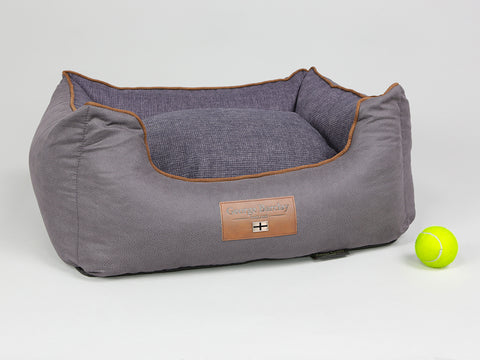 Hursley Orthopaedic Walled Dog Bed - Vineyard / Violet, Small