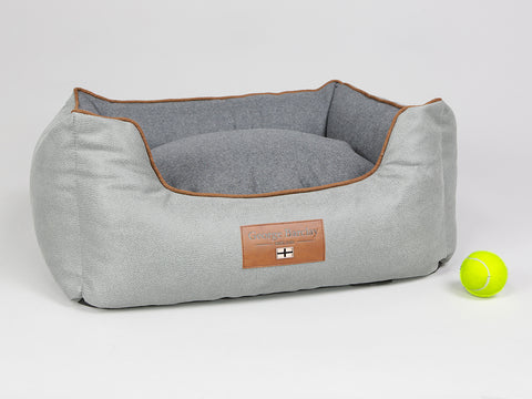 Selbourne Orthopaedic Box Bed -  Fossil / Charcoal, Small - 60 x 50 x 27cm