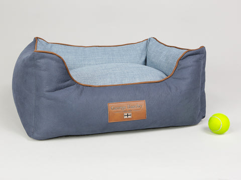 Monxton Orthopaedic Box Bed - Twilight / Denim, Small - 60 x 50 x 27cm