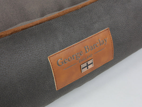 Hursley Orthopaedic Walled Dog Bed - Chocolate / Chestnut, Medium