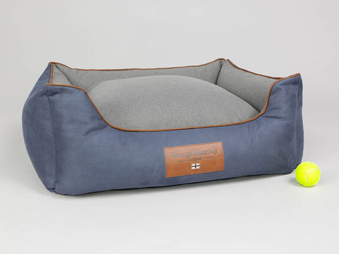 Monxton Orthopaedic Box Bed - Twilight / Ash, Medium - 75 x 60 x 30cm