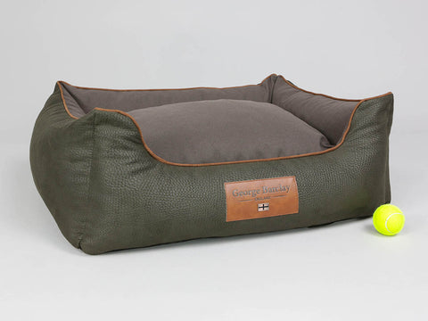 Beauworth Orthopaedic Walled Dog Bed - Coffee Bean, Medium
