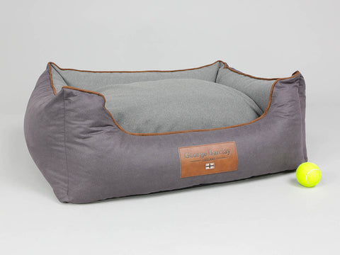 Hursley Orthopaedic Walled Dog Bed - Vineyard / Ash, Medium