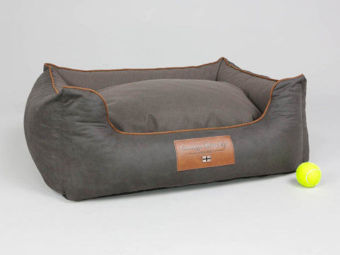 Hursley Box Bed - Chocolate / Chestnut, Medium - 75 x 60 x 30cm