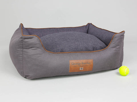Hursley Orthopaedic Box Bed - Vineyard / Violet, Medium - 75 x 60 x 30cm